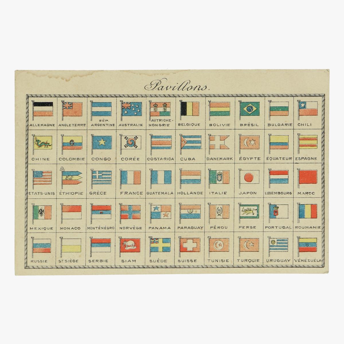 Afbeeldingen van postkaart exposition bruxelles 1910 pavillons