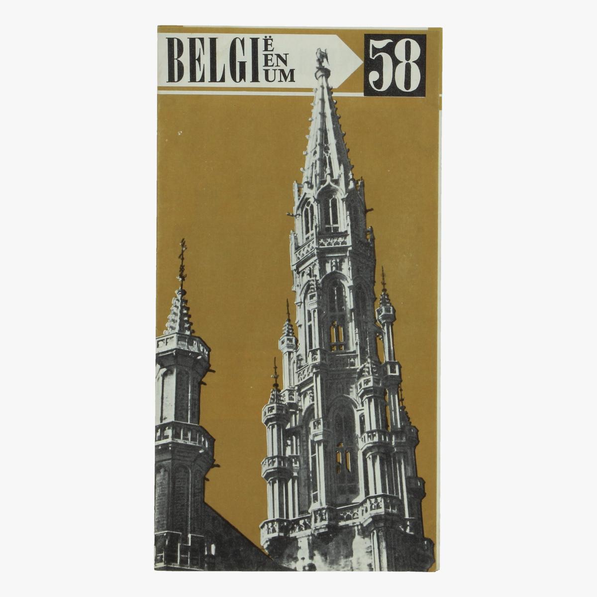 Afbeeldingen van expo 58 folder kennismaking met belgie