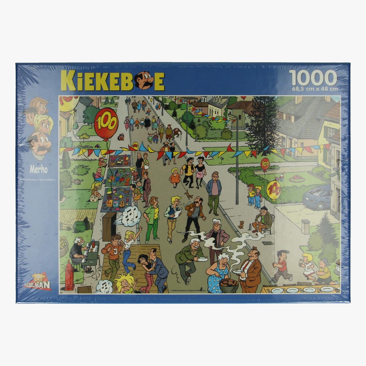 Afbeeldingen van Puzzel Kiekeboe 1000stuks