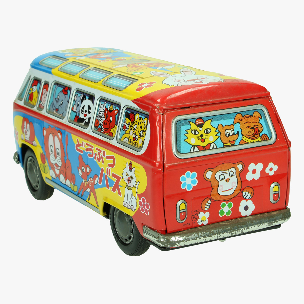 Afbeeldingen van busje volkswagen made in japan ichico