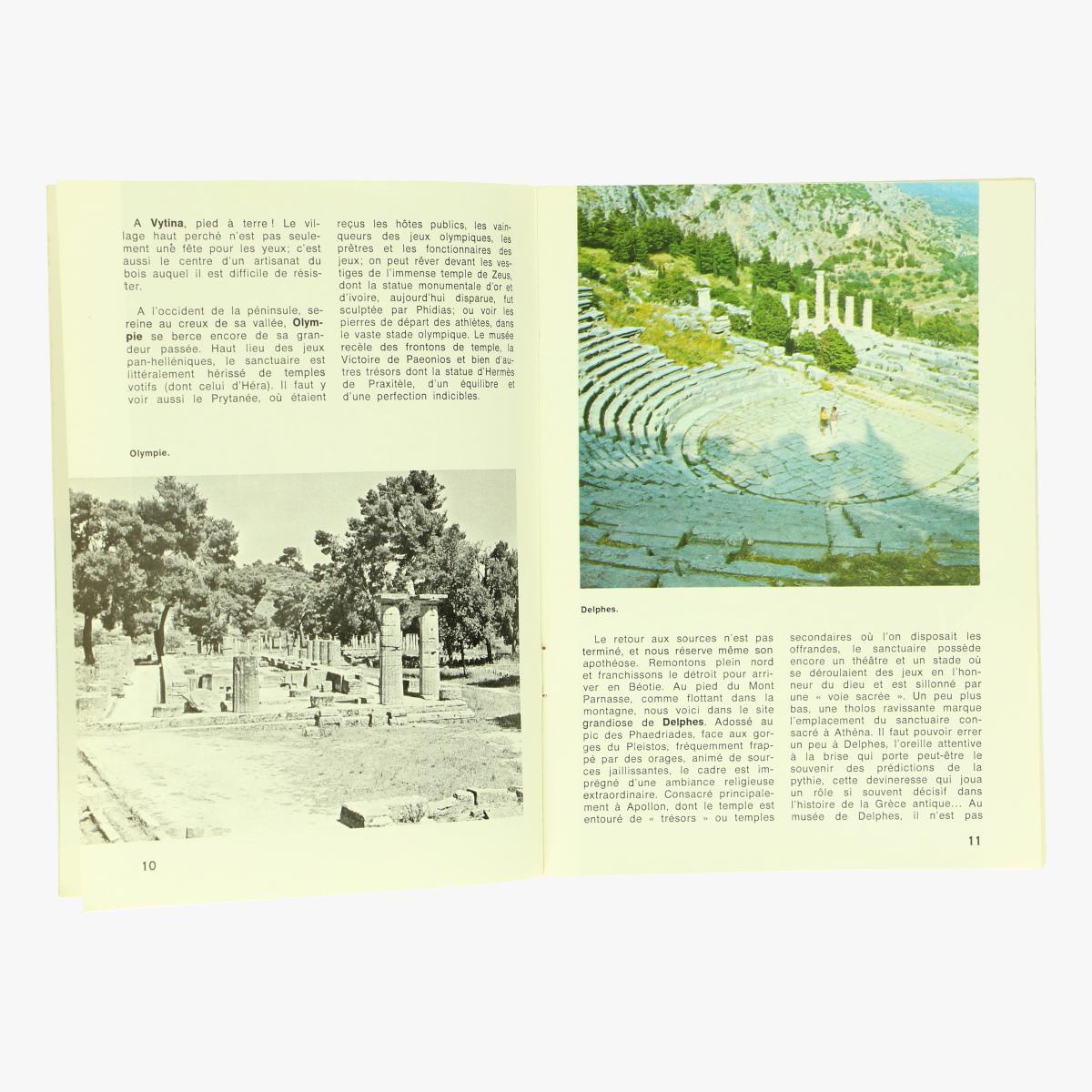 Afbeeldingen van sabena magazine 1970 grece n° 93