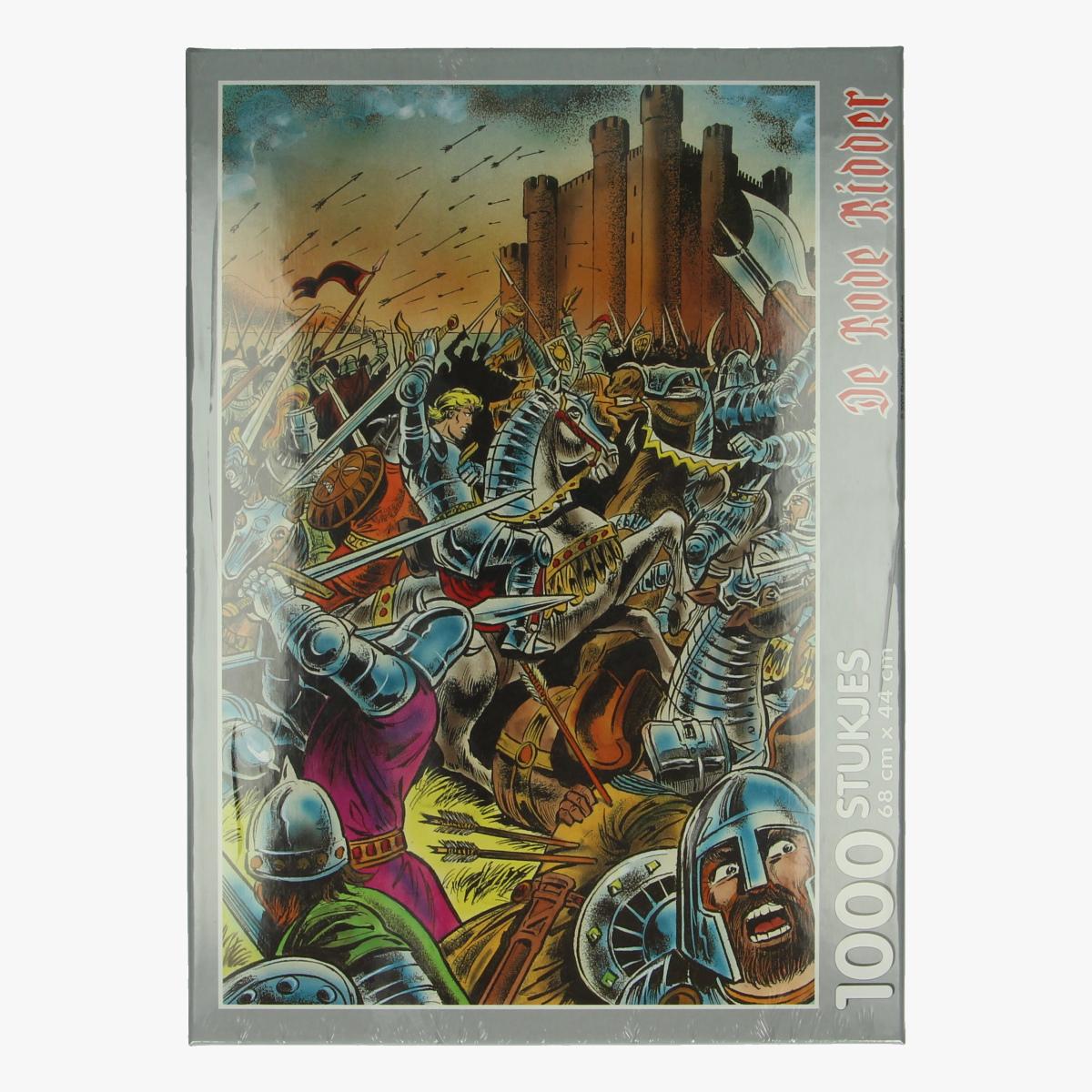 Afbeeldingen van Puzzel rode ridder