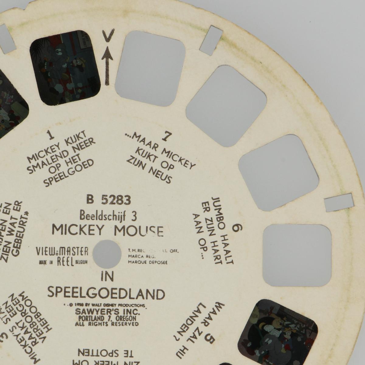 Afbeeldingen van View-Master Mickey Mouse in speelgoedland B5283