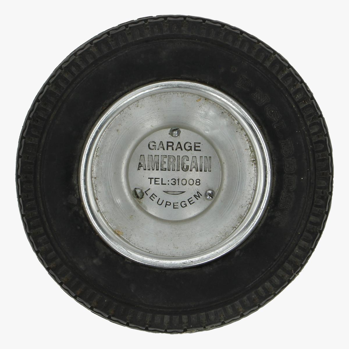 Afbeeldingen van asbak Garage american leupegem