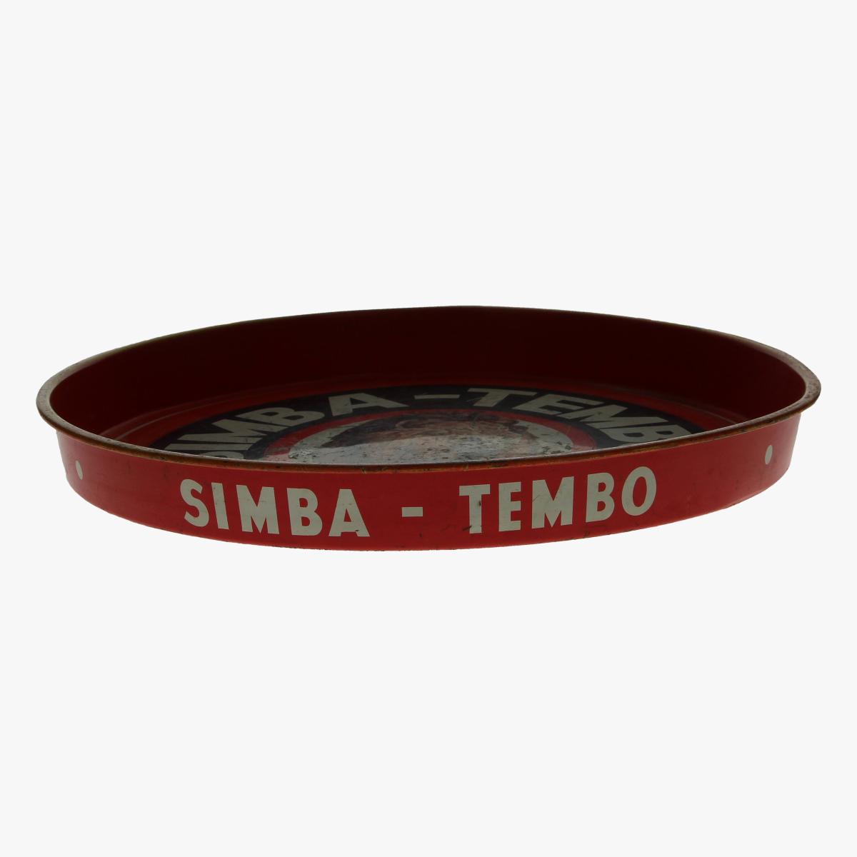Afbeeldingen van oude plateau Simba-Tembo