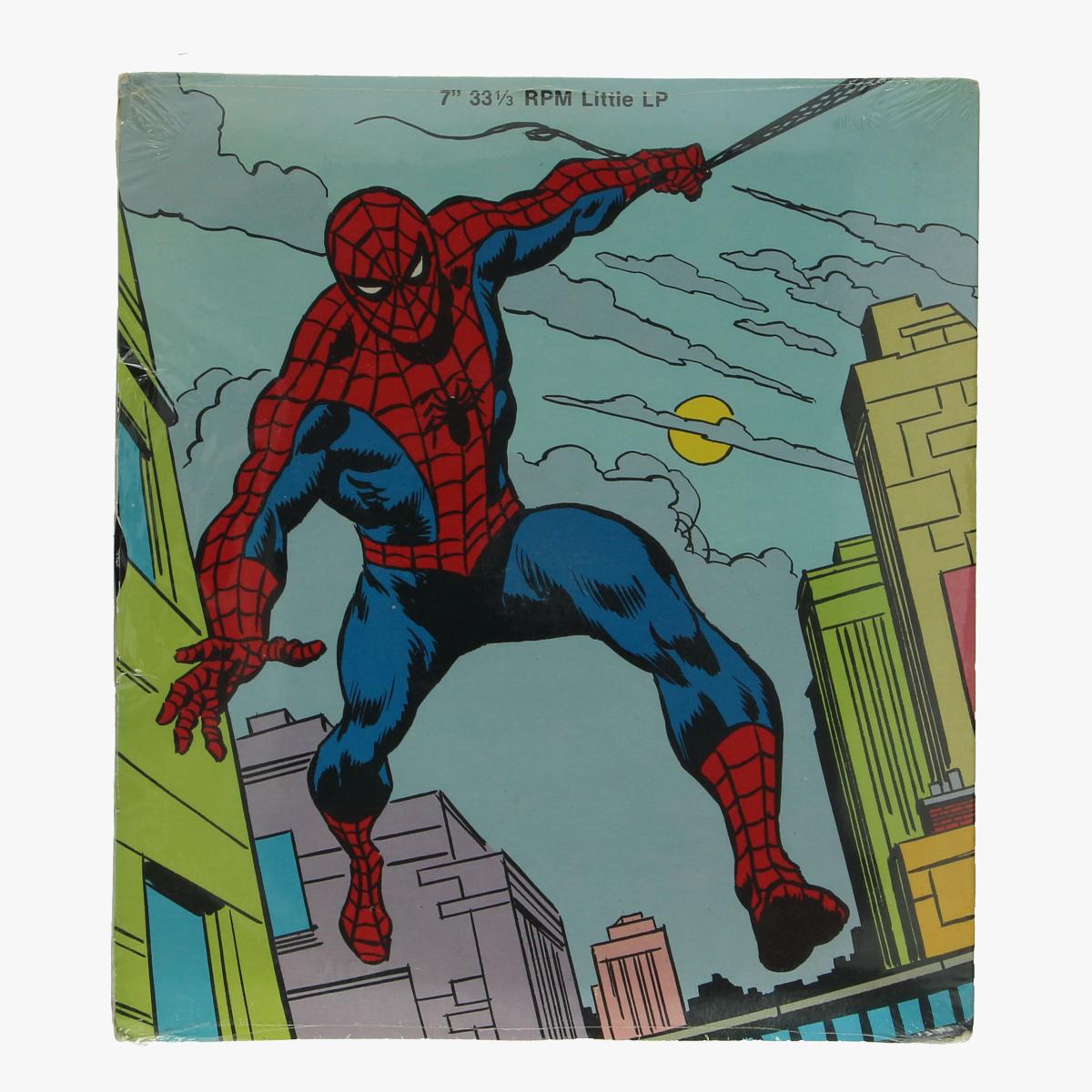 Afbeeldingen van little lp spiderman the abominable showman