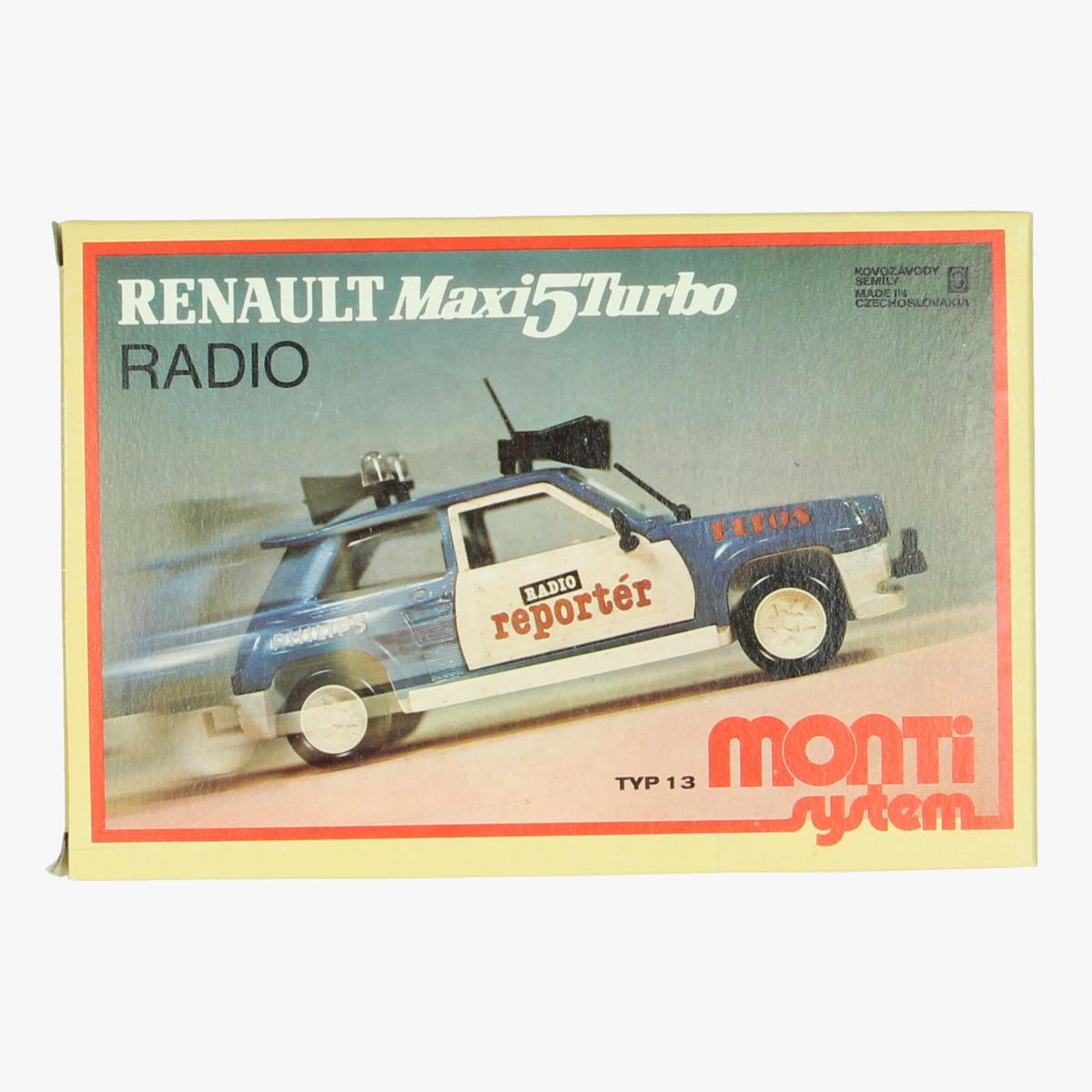 Afbeeldingen van Renault Maxi5Turbo. Zelfbouw kit. Radio. Mont System