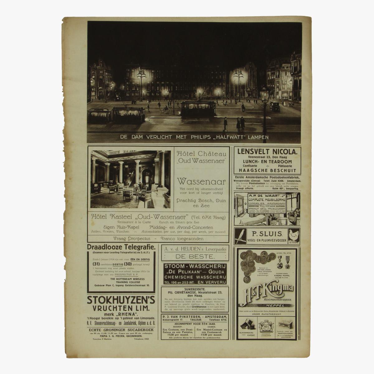Afbeeldingen van oude weekblad panorama N°61  29 juli 1915