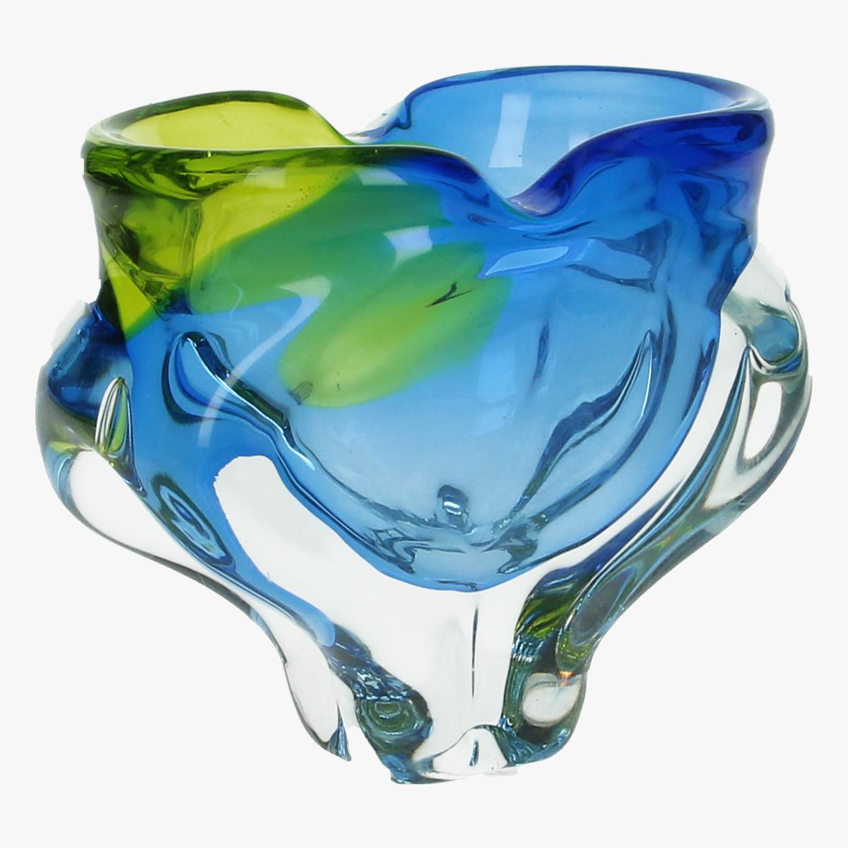 Afbeeldingen van glaswerk vaas