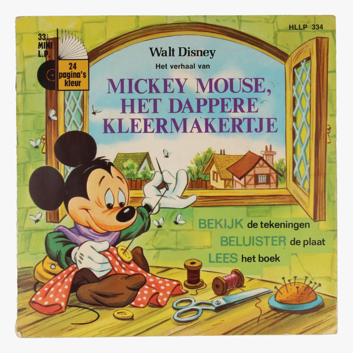 Afbeeldingen van Mini Lp Walt Disney Mickey Mouse, het Dappere kleermakertje