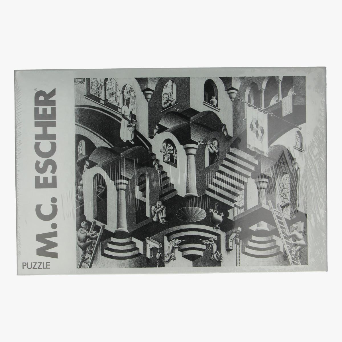 Afbeeldingen van Puzzel M.C. Escher concave and convex