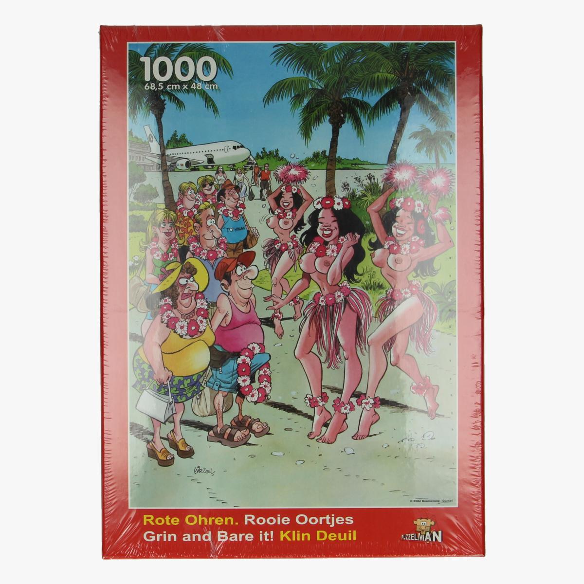 Afbeeldingen van Puzzel Rooie oortjes 1000stuks