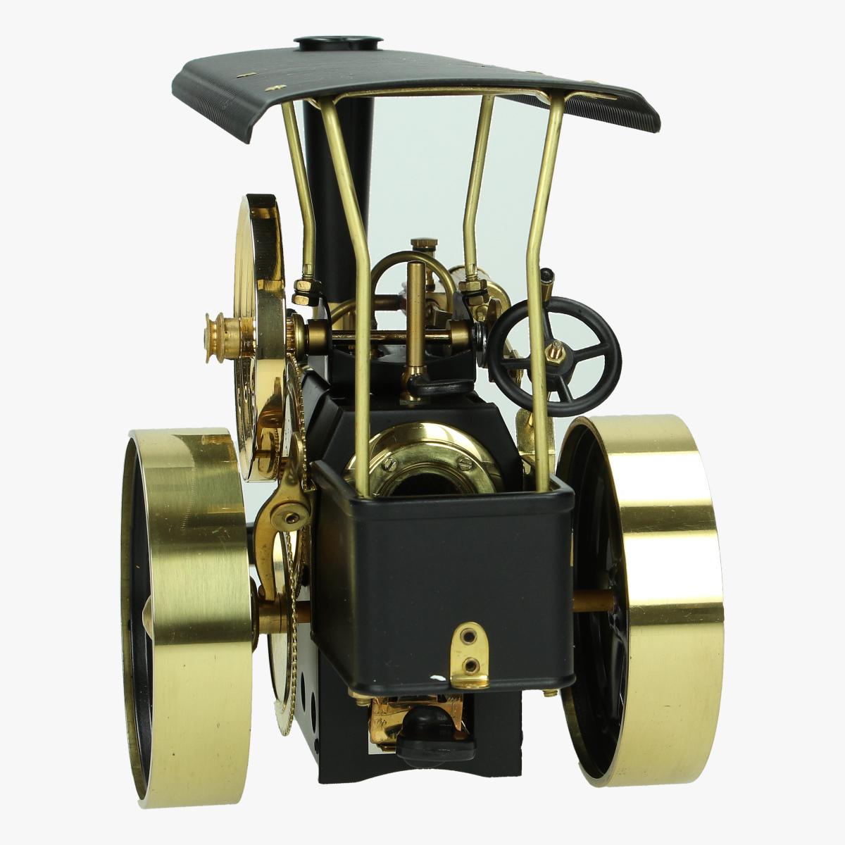 Afbeeldingen van wilesco traktor stoommachine repro