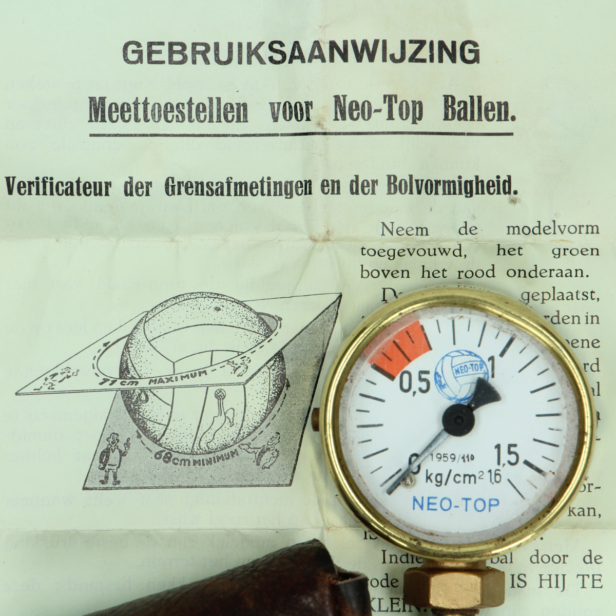 Afbeeldingen van Neo-Top ballen drukmeter Caro & Lambet