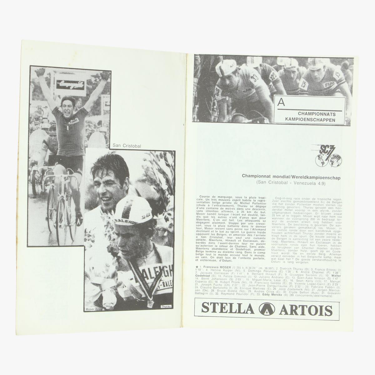 Afbeeldingen van wielrennenVelo het nieuwsblad sportwereld 1978