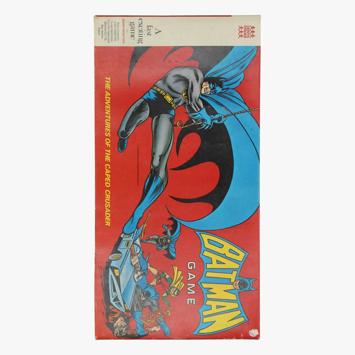 Afbeeldingen van batman game the adventures off the capes crusader 1976