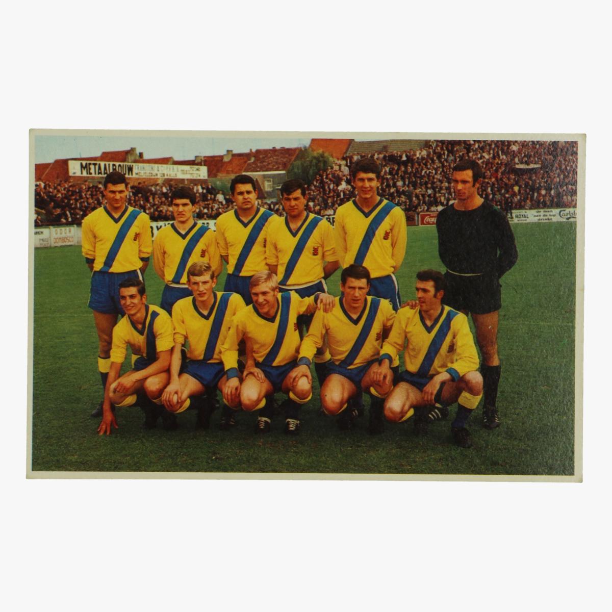 Afbeeldingen van oude postkaart voetbal beveren