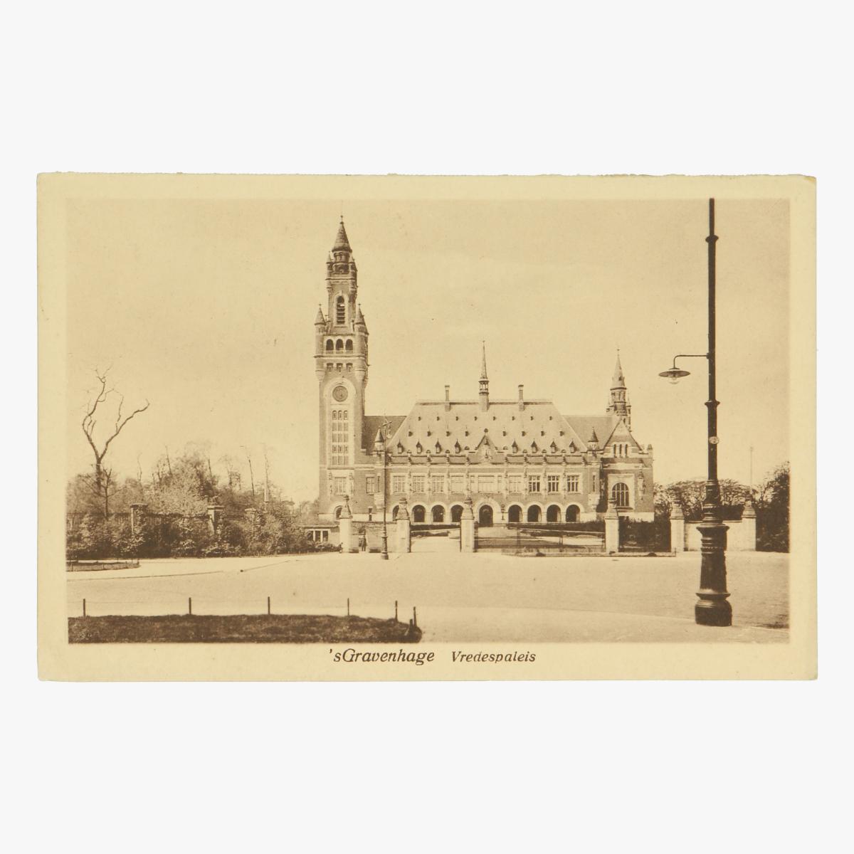 Afbeeldingen van 's Gravenhage Vredespaleis Postkaart Nr. 3 Uitgeverij Artur Klitzsch Den Haag