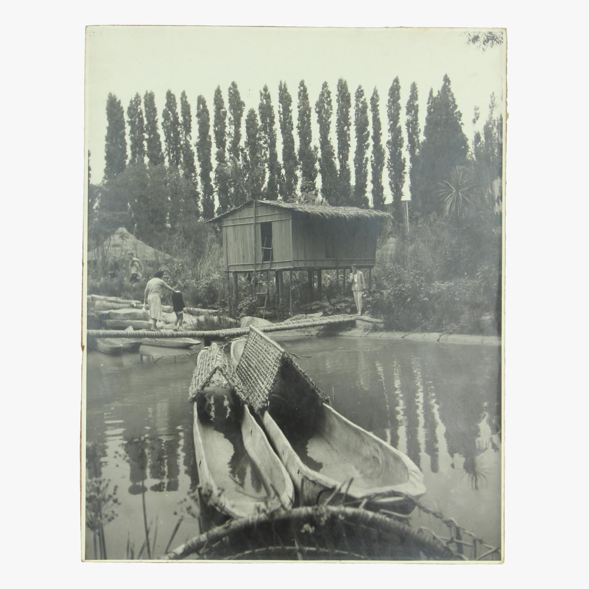 Afbeeldingen van Expo 58 foto op hout
