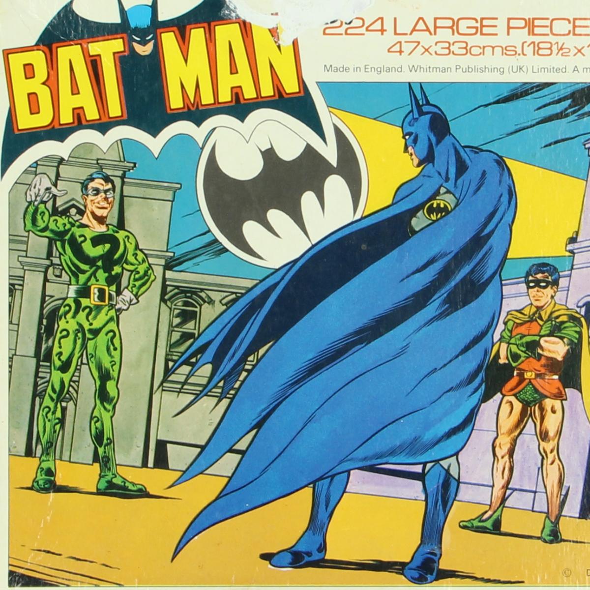 Afbeeldingen van Batman. Puzzel.