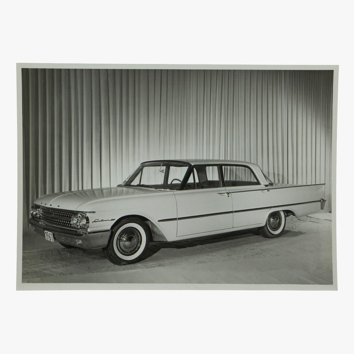 Afbeeldingen van zwart-wit foto Ford fairlane