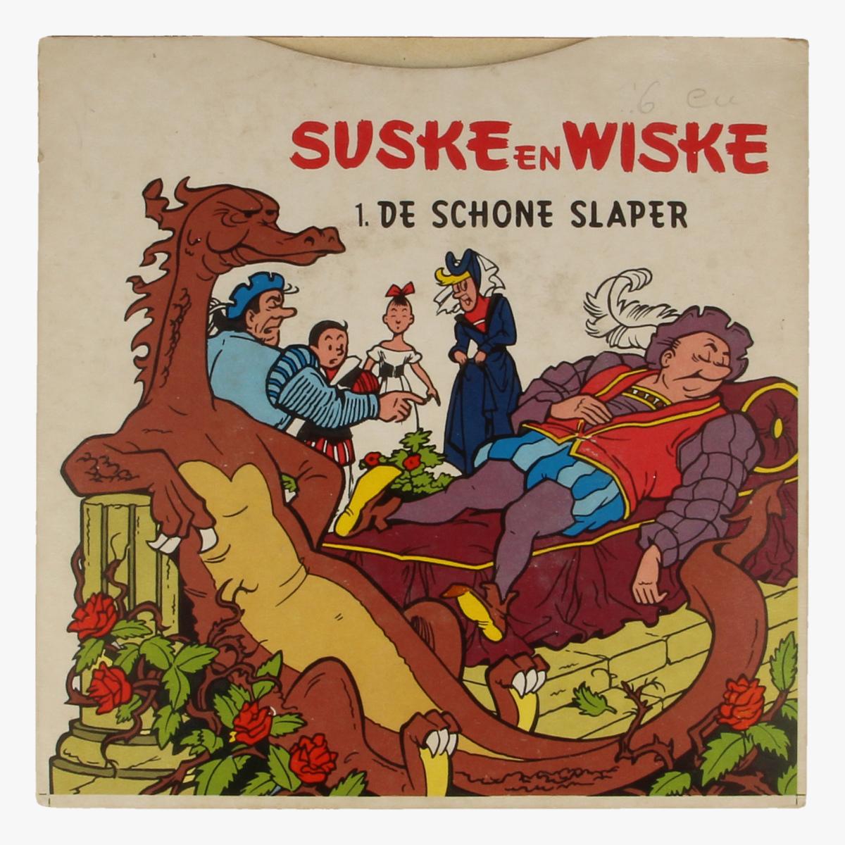 Afbeeldingen van Suske en Wiske De schone slaper 33 toeren SINGEL