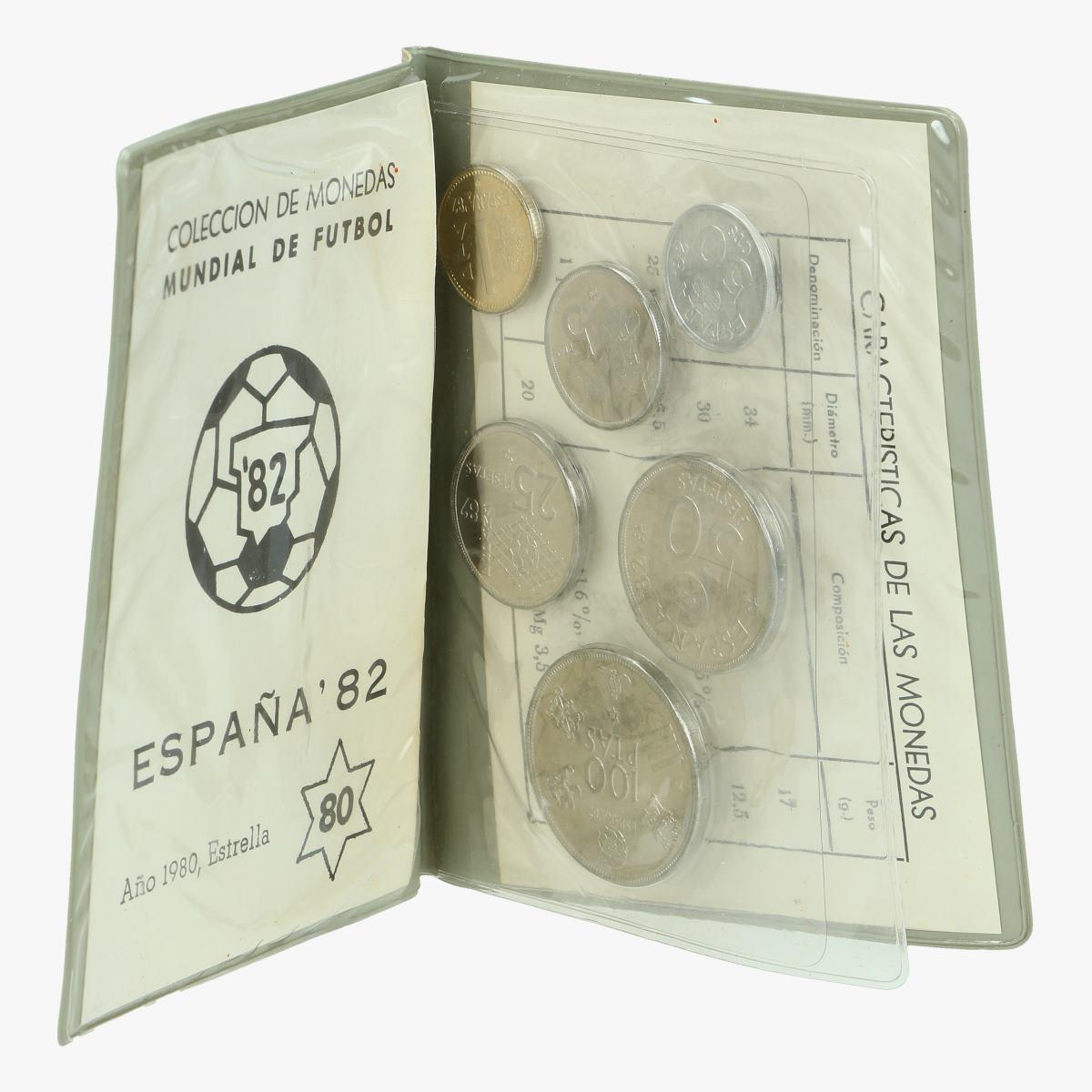 Afbeeldingen van collectie munten espana'82 mundial de futbol