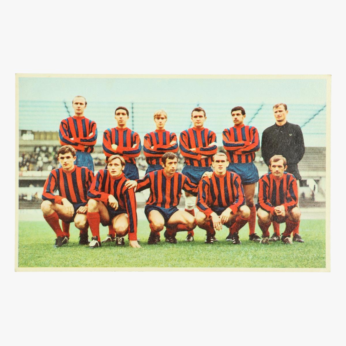 Afbeeldingen van oude postkaart voetbal F.C. liegeois / f.c.luik