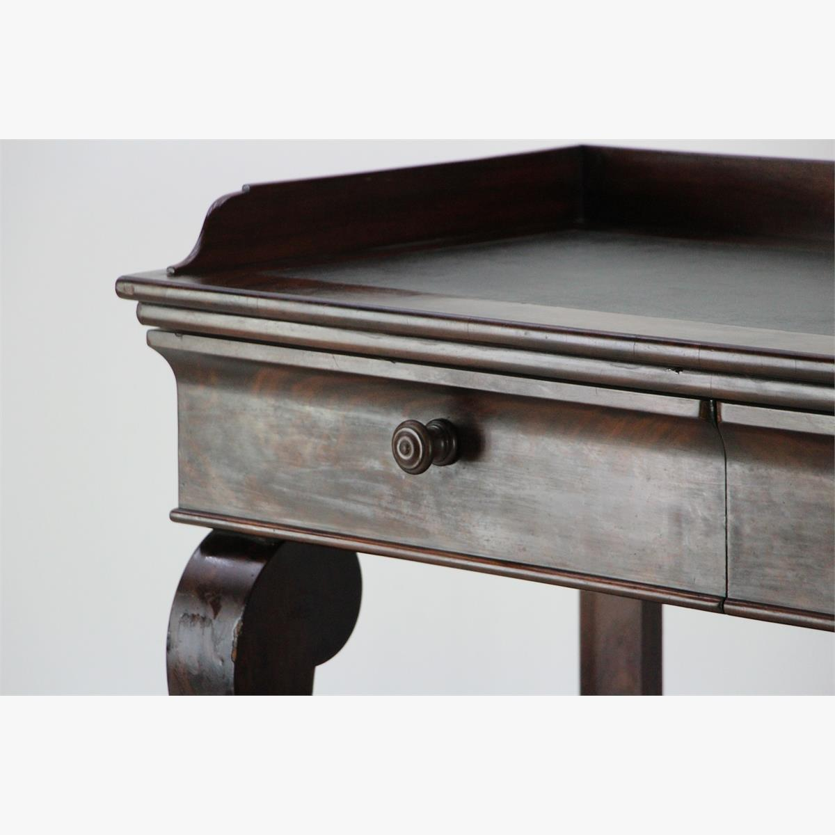 Afbeeldingen van mahonie - trumeau side tabla empire stijl