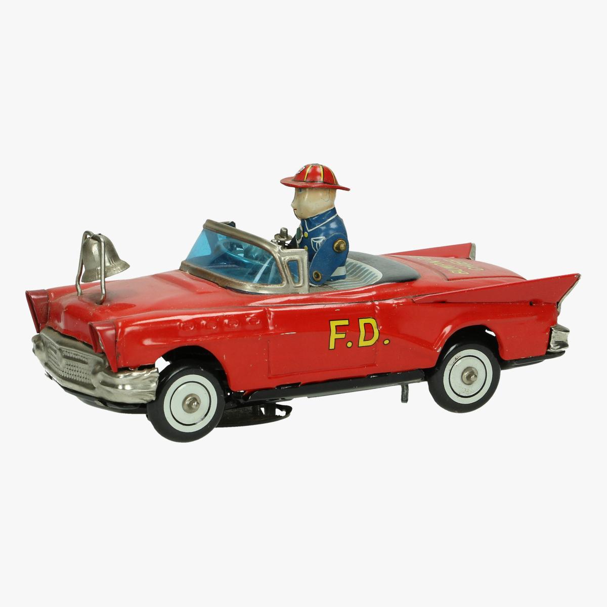Afbeeldingen van brandweer wagen bump 'n go f.d.car made in japan