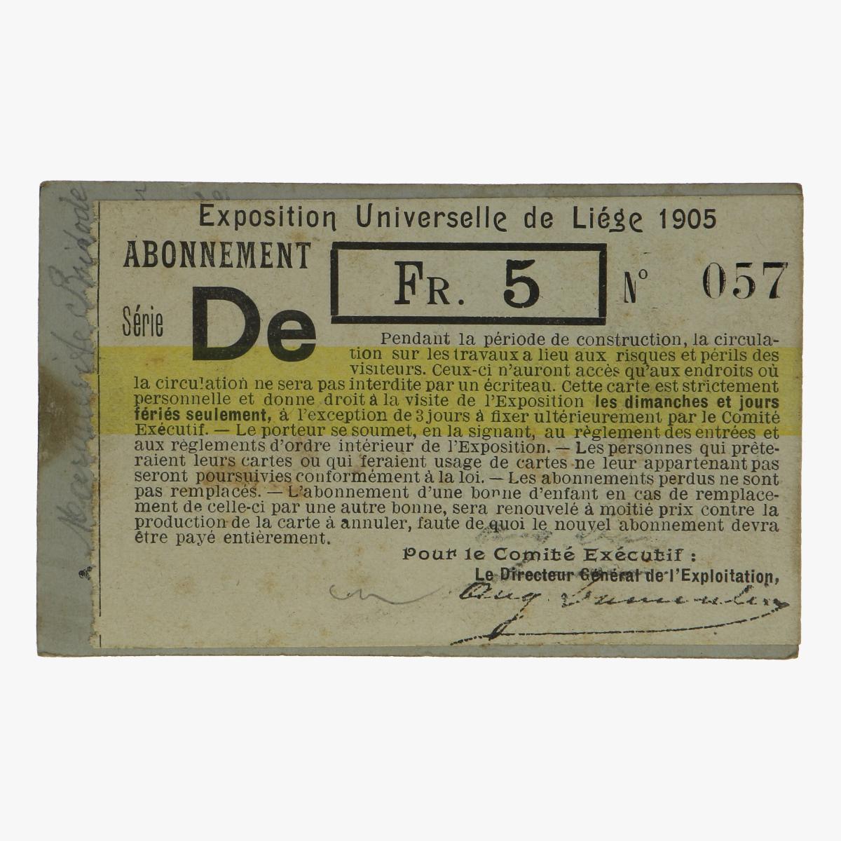 Afbeeldingen van expostition de universelle de liége 1905 abonnement