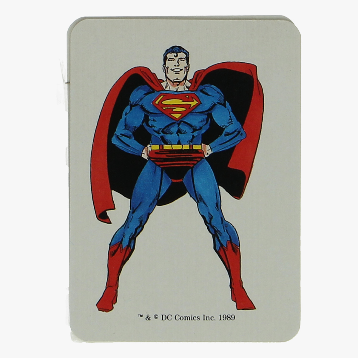 Afbeeldingen van kwartetspel superman 1989