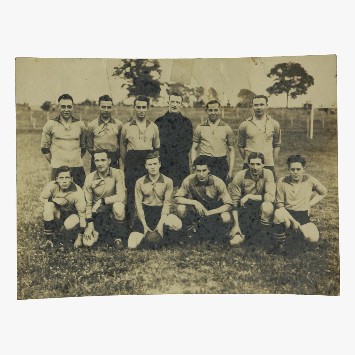 Afbeeldingen van oude foto voetbalploeg