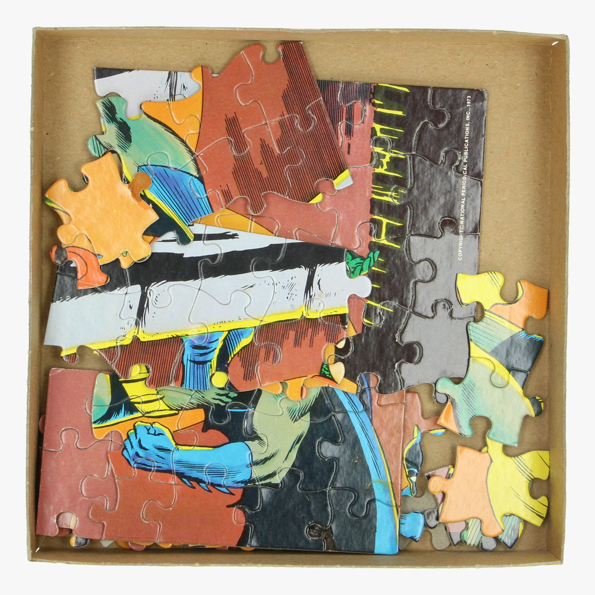 Afbeeldingen van puzzel batman with robin the boy wonder 1973