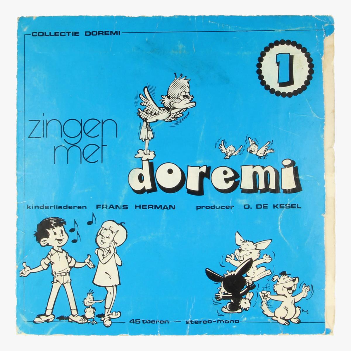Afbeeldingen van Doremi Kinderliederen LP 45 toeren