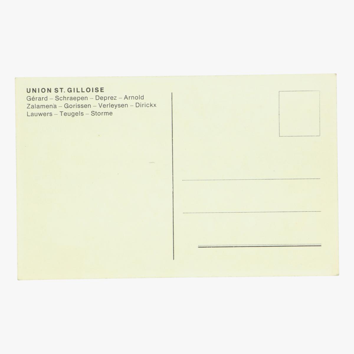 Afbeeldingen van oude postkaart voetbal union st.gilloise