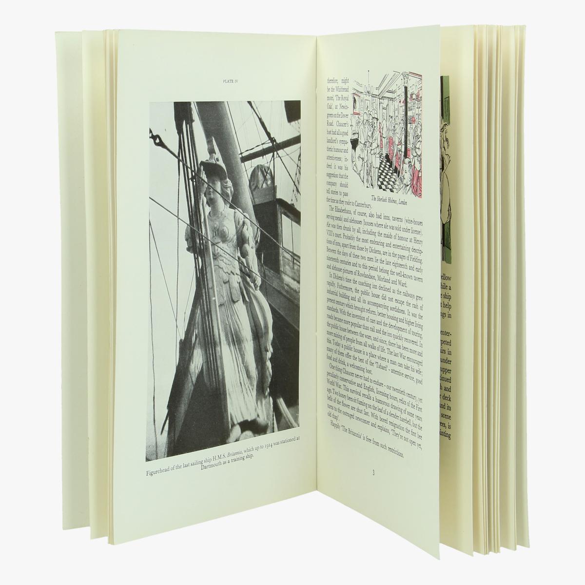 Afbeeldingen van boekje expo 58 The Britannia inn universal and international the house of whitbread