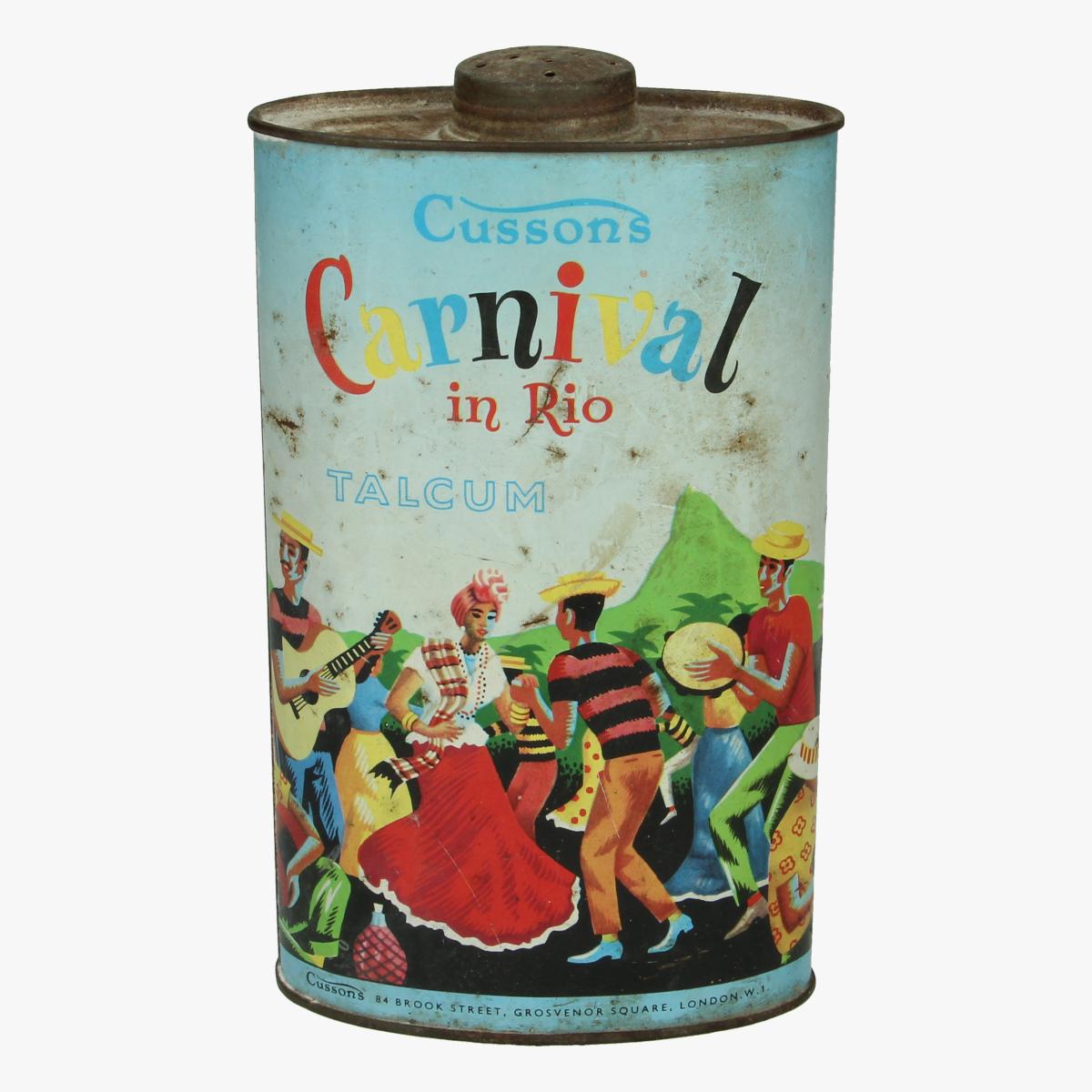 Afbeeldingen van Carnival in Rio. Cussons. Talkpoeder