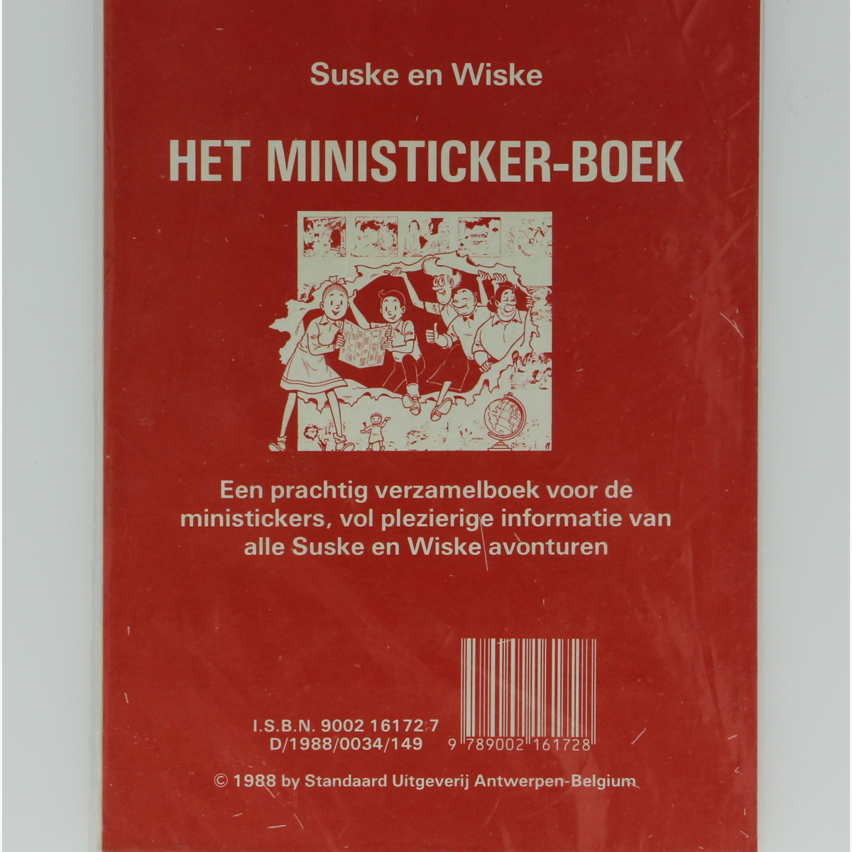 Afbeeldingen van Suske en Wiske mini stickers 1988