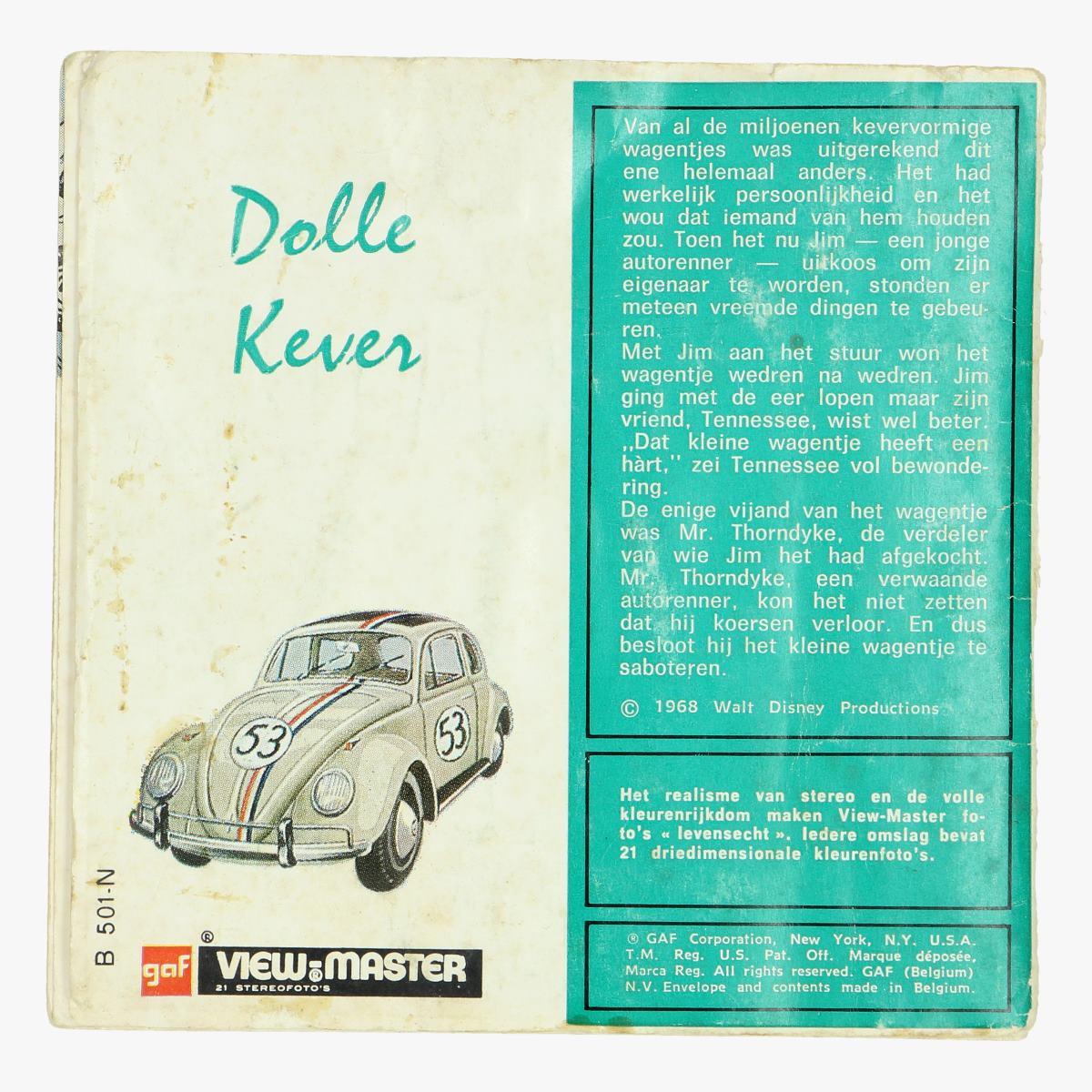 Afbeeldingen van vieuw-master dolle kever 1968 walt disney productions