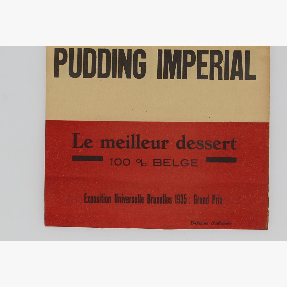 Afbeeldingen van wereld tentoonstelling 1935 bxl pudding imperial vlagje