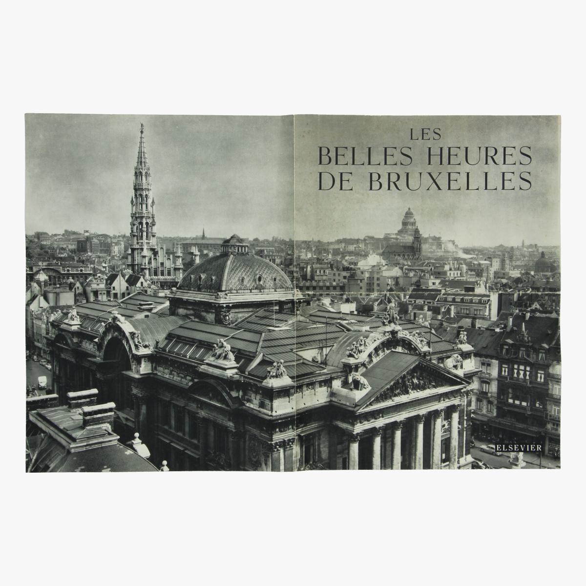 Afbeeldingen van folder les bes heures de bruxelles brussel