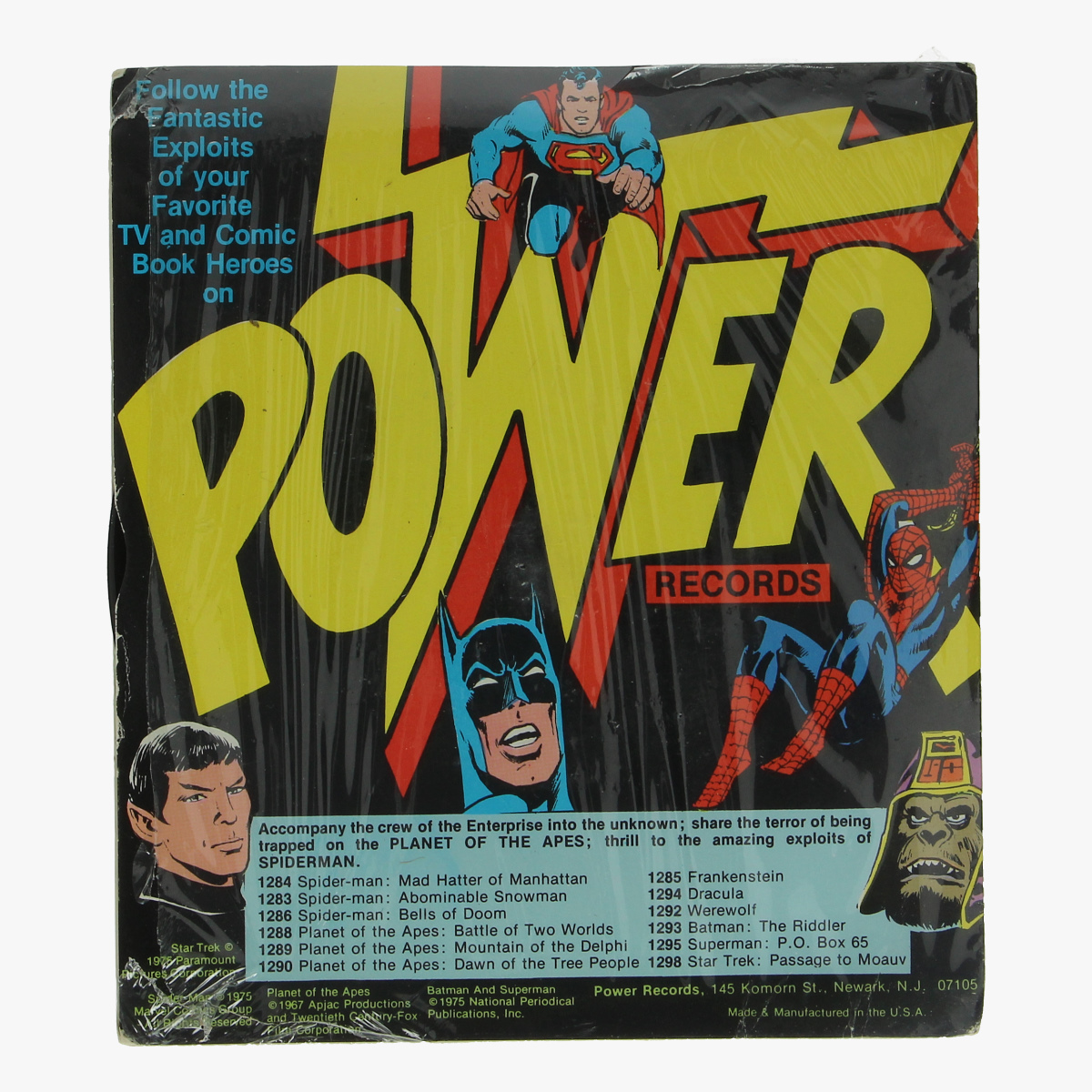 Afbeeldingen van little lp superman weatherspoon's catalyst 1975