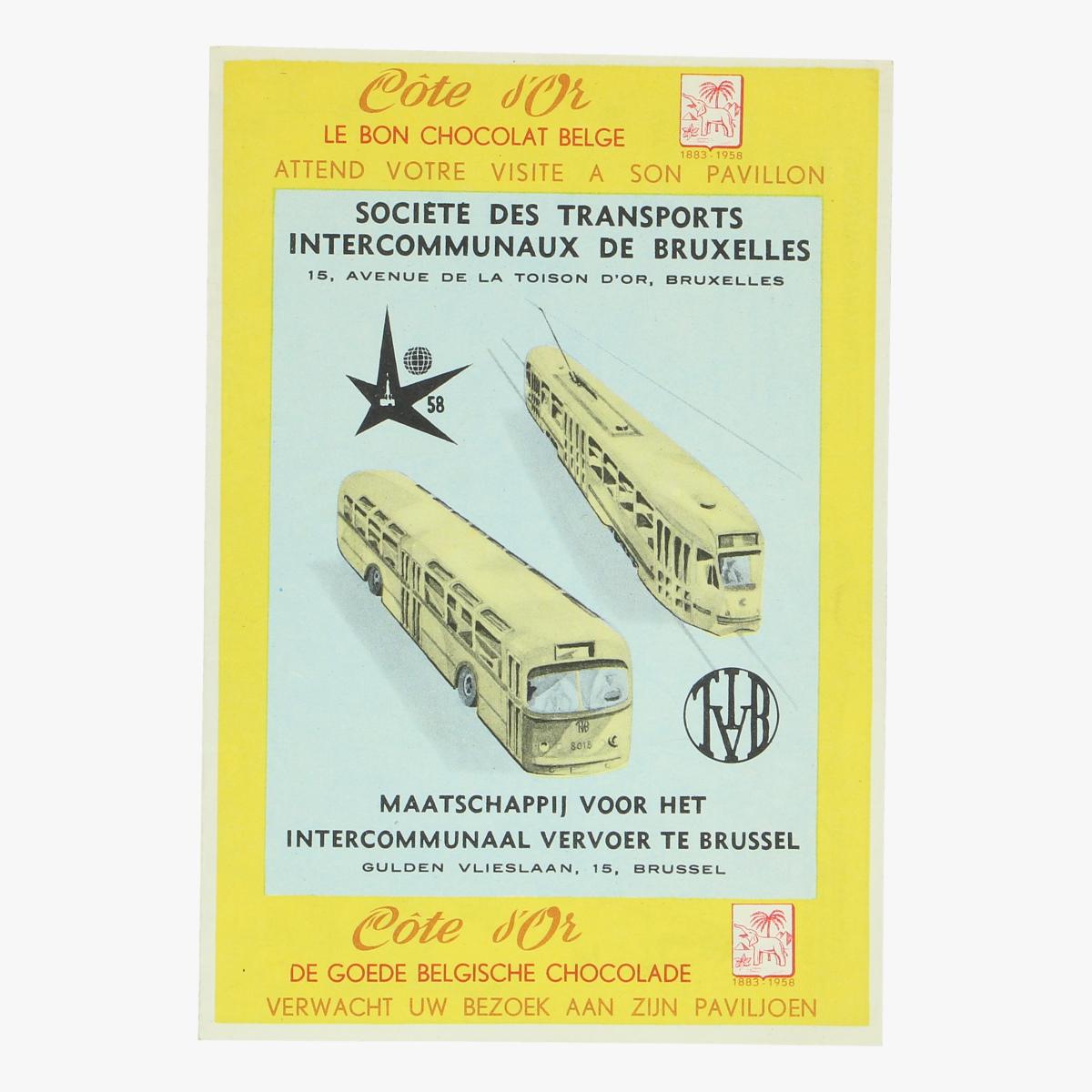 Afbeeldingen van expo 58 cote d'or le bon choclade belge attend votre visite a son pavillon