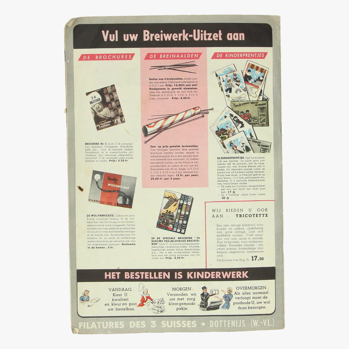 Afbeeldingen van breiwerk - gids voor 1953