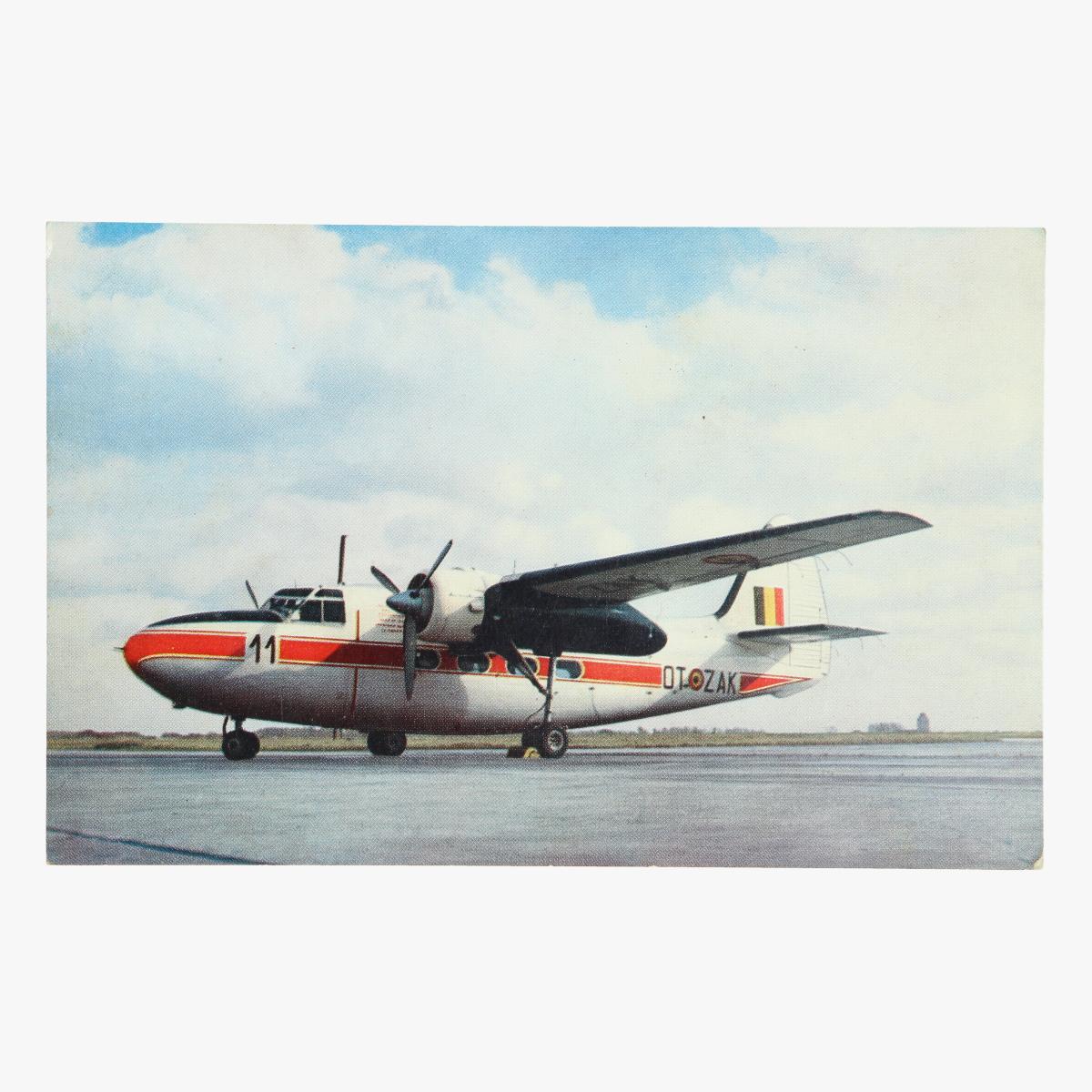 Afbeeldingen van postkaart belgische luchtmacht percival pembroke.