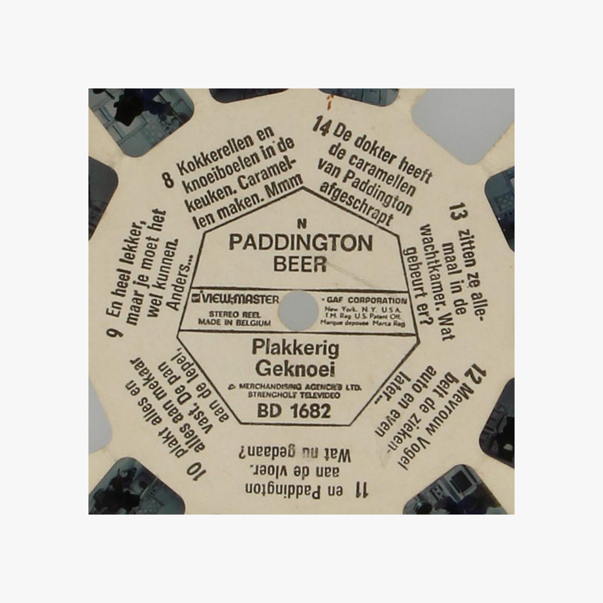 Afbeeldingen van View-Master. Paddington Beer. Plakkerig Geknoei. BD 1682