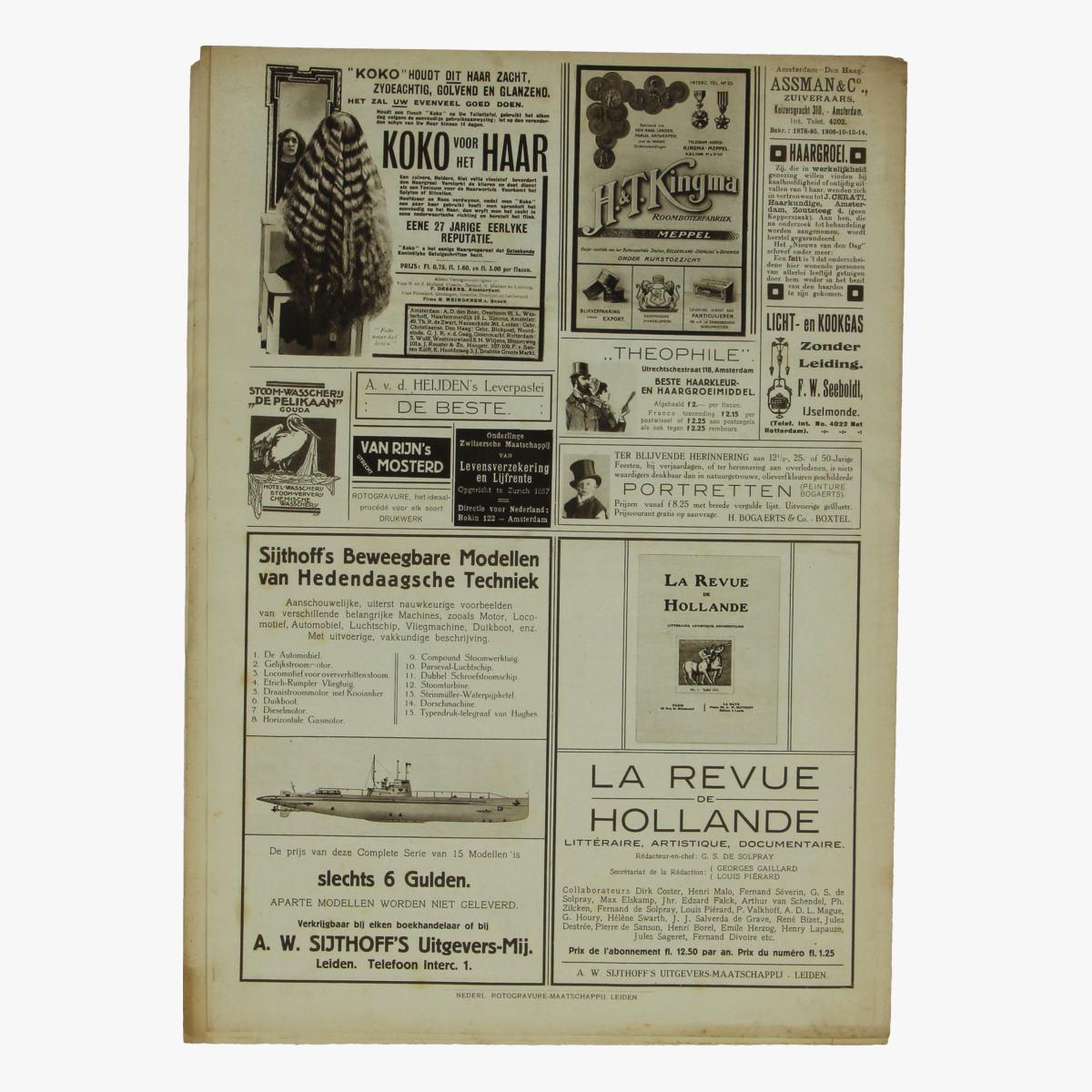 Afbeeldingen van oude weekblad panorama N°78   27 sept. 1915.
