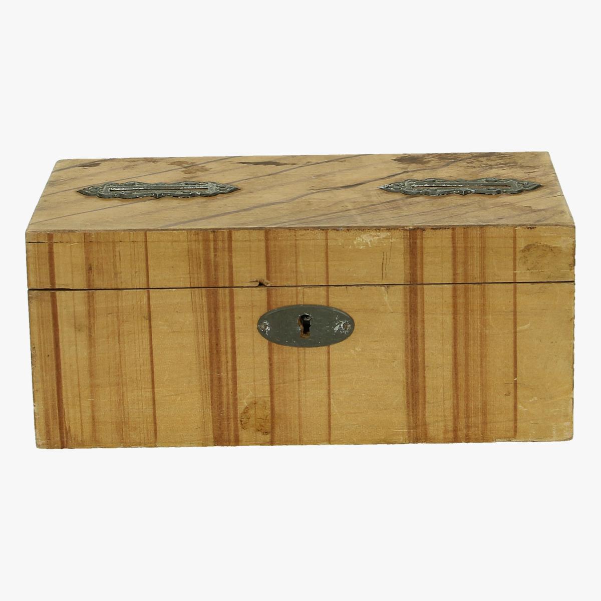 Afbeeldingen van spaarpot houten kistje