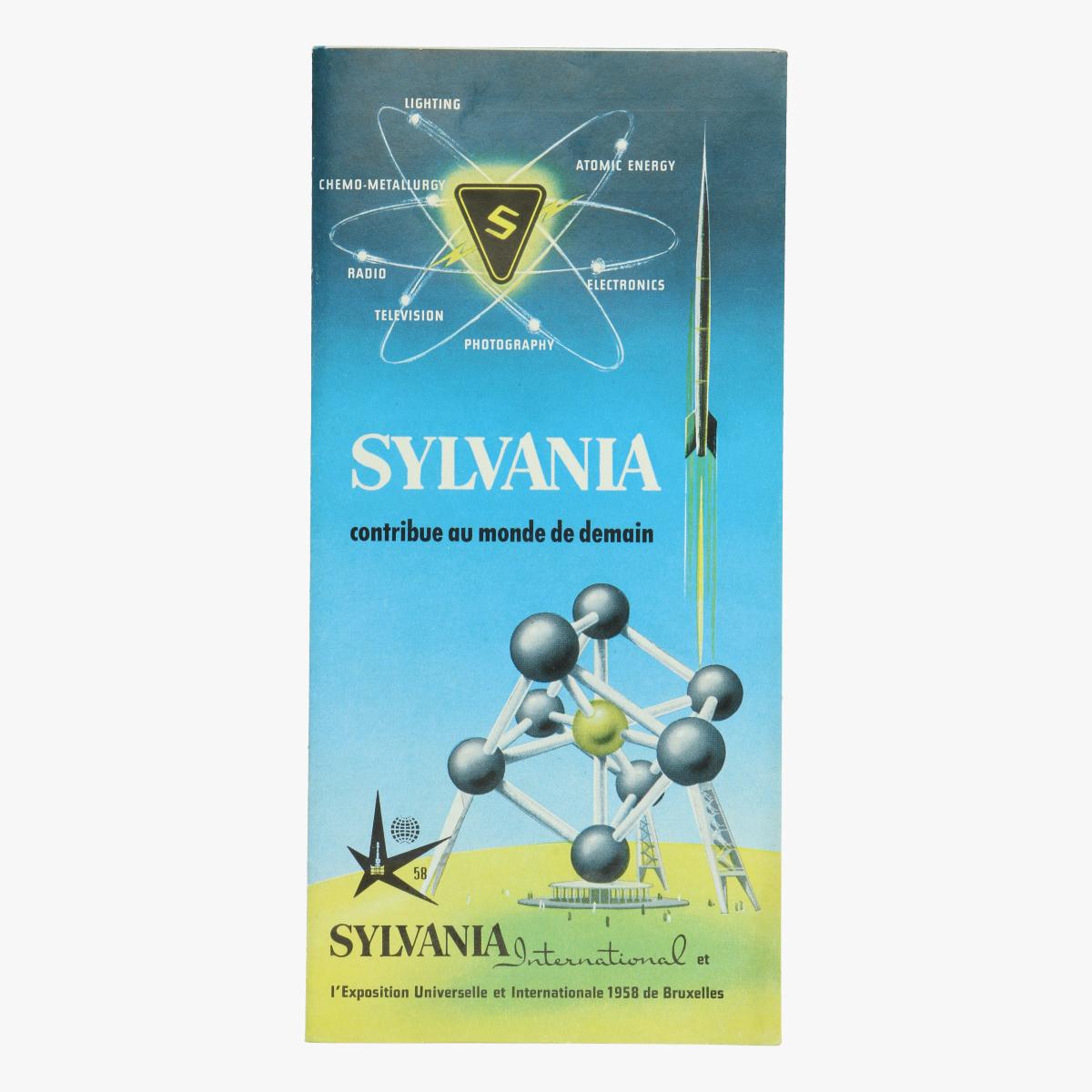Afbeeldingen van expo 58 sylvania contribue au monde de demain